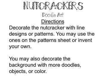 Doodle Art - Nutcrackers