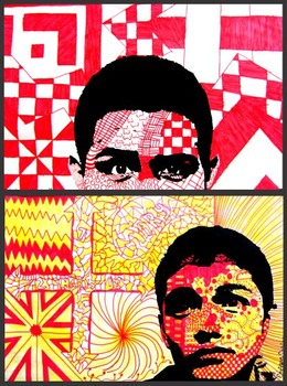 Doodle Art Portraits