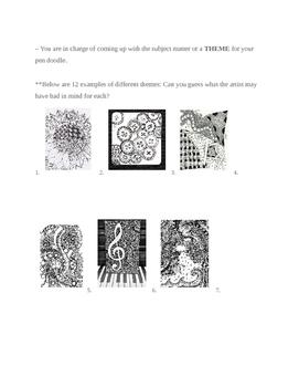 Doodle Art Project