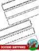 Doodle Banners / Frames - Skinny