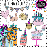 Doodle Birthday Clipart