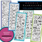 Doodle Bookmark GROWING Bundle - Volume 3