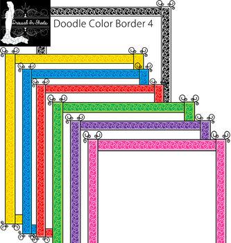 Doodle Border 4