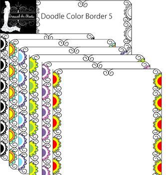 Doodle Border 5