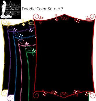 Doodle Border 7