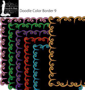 Doodle Border 9