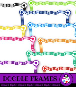 Doodle Border Clip Art