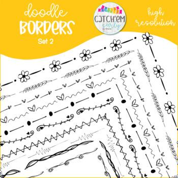 Doodle Border Set 2