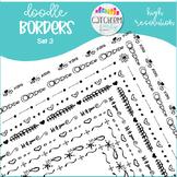 Doodle Border Set 3