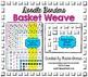 Doodle Borders: Basket Weave Clip Art Frames