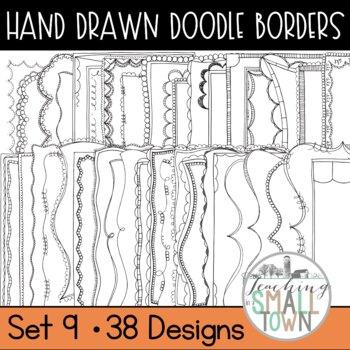 Doodle Borders Bundle [Set 2] - 152 Frames for Commercial Use