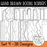 Doodle Borders Large Set // Personal and Commercial Use // Set #9