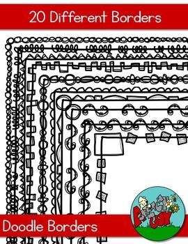 Doodle Borders / Frames