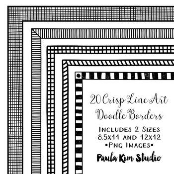 Doodle Borders #5