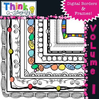 Doodle Borders and frames