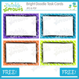 Doodle Bright Task Cards
