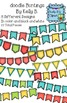 Doodle Bunting by Kelly B.