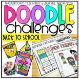 Doodle Challenges- BACK TO SCHOOL