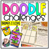 Doodle Challenges- Things I Love