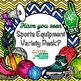Doodle Chevron Frame Clip Art {Rainbow Glitter Labels for