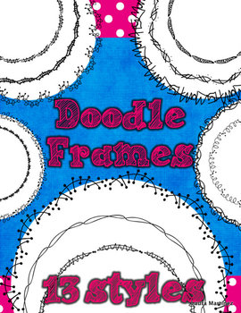 Doodle Circle Frames