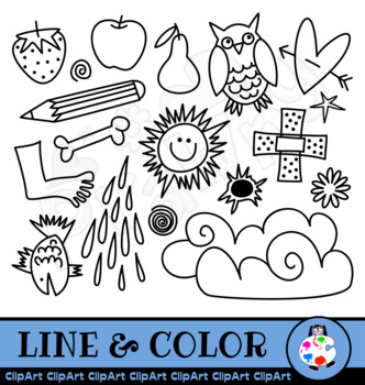Doodle Clip Art Things