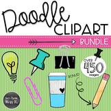 Doodle Clipart Bundle