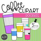Doodle Coffee Clipart