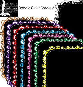 Doodle Border 6