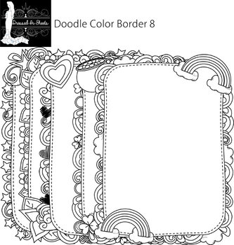 Doodle Border 8