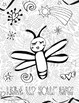 Doodle Coloring Pages:  Fireflies!
