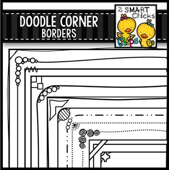 Doodle Corner Borders