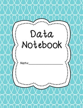 Doodle Data Notebook Binder Covers