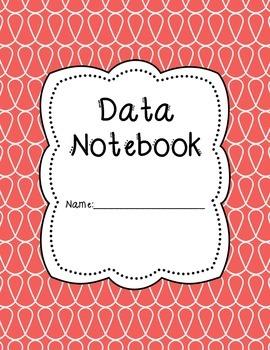 Doodle Data Notebook Binder Covers