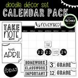 Doodle Decor Calendar Pack