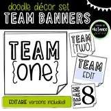 Doodle Decor Team Banners