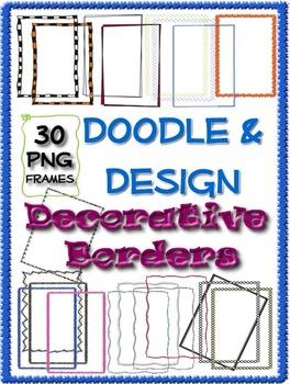 Doodle & Design Decorative Borders