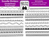 Doodle Dividers {Underlines} Set