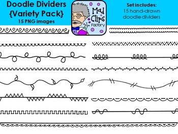 Doodle Dividers Variety Pack