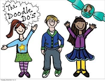Doodle Do KIDS! Clip Art