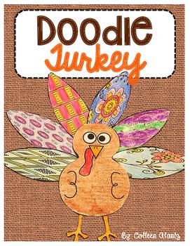 Doodle Feather Turkey