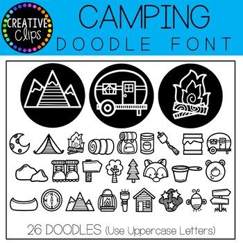 Doodle Font All Access Bundle {Creative Clips Clipart}