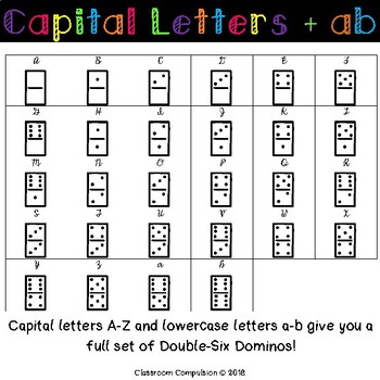 Doodle Fonts Dominos (for Personal and Commercial Use)