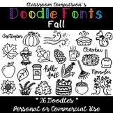 Doodle Fonts Fall (for Personal and Commercial Use)