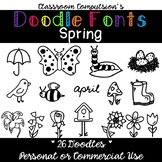Doodle Fonts Spring (for Personal and Commercial Use)