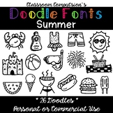 Doodle Fonts Summer (for Personal and Commercial Use)