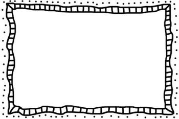 Doodle Frame Border