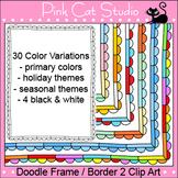 Borders Clip Art - Doodle Frame