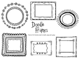 Doodle Frame Pack of 15 for Personal and Commercial Use