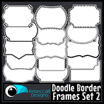 Frames Clip Art Set 2